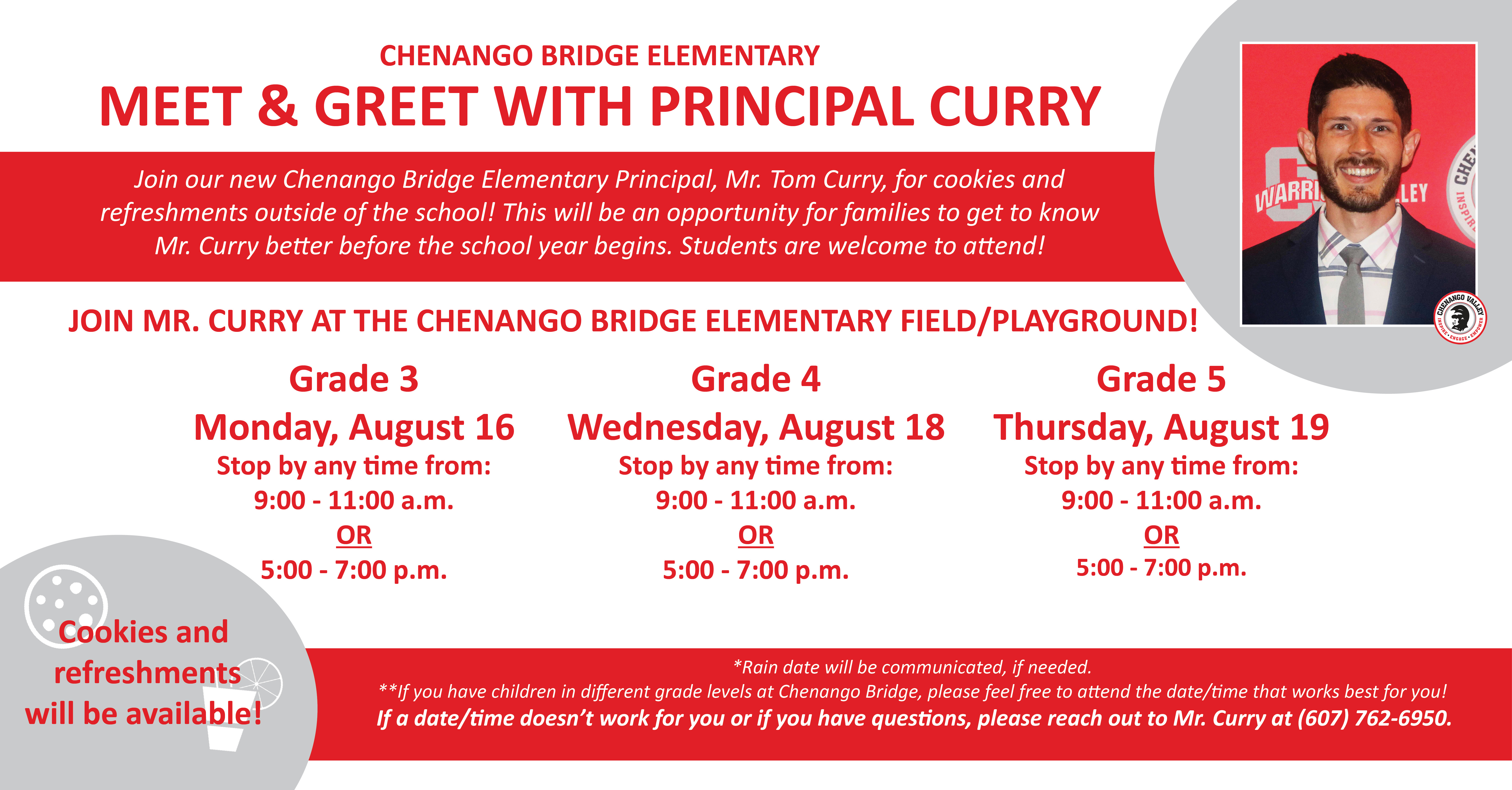 Meet and Greet with Principal Curry