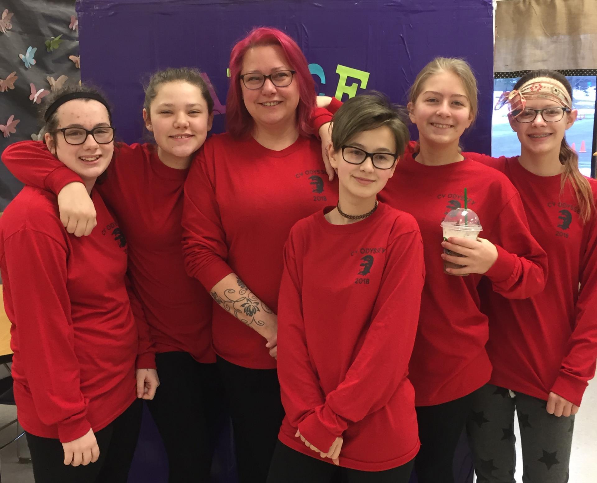 seventh grade team