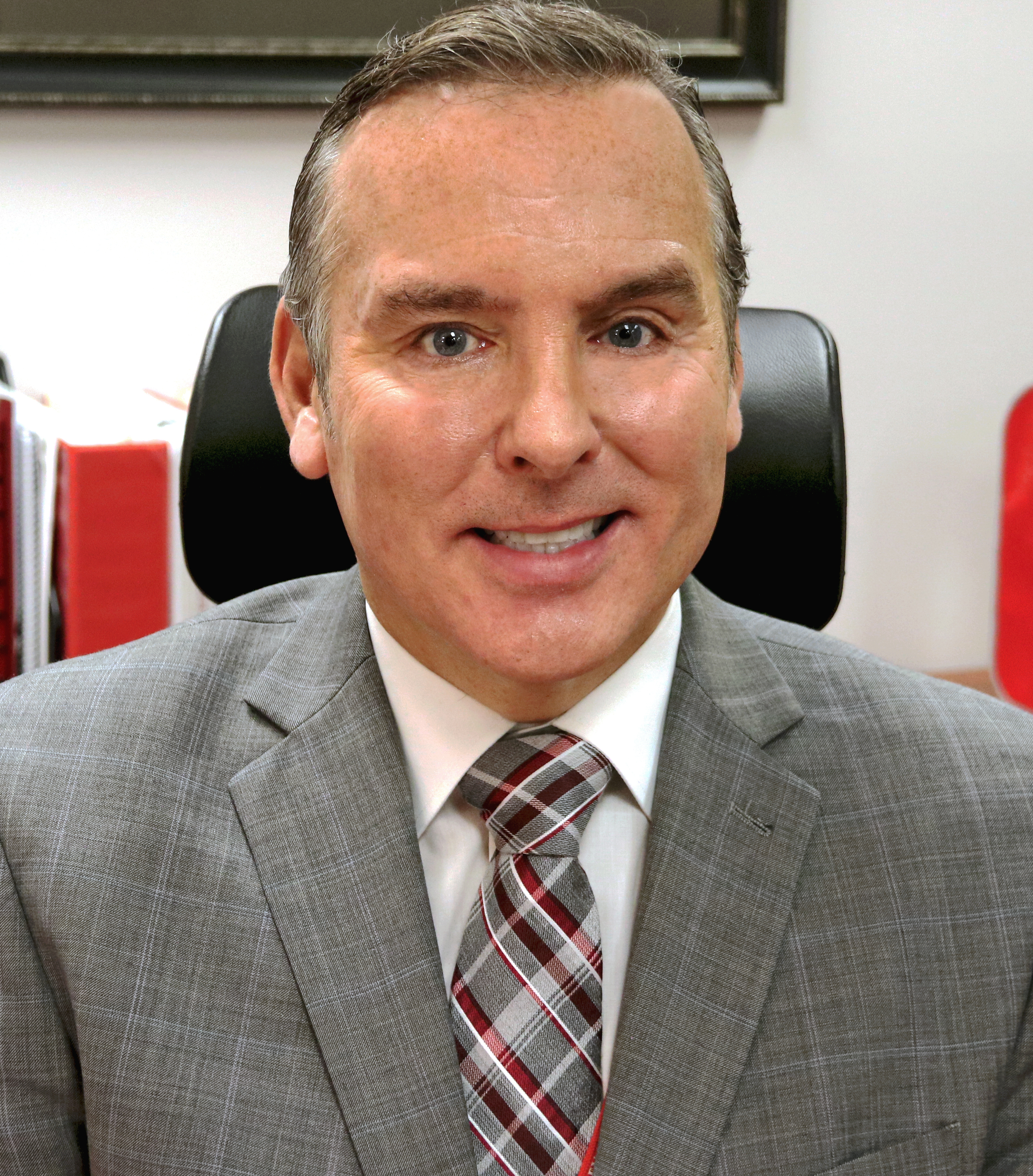 Superintendent Dr David P Gill