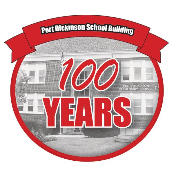 Port dickinson school building 100 years celebration