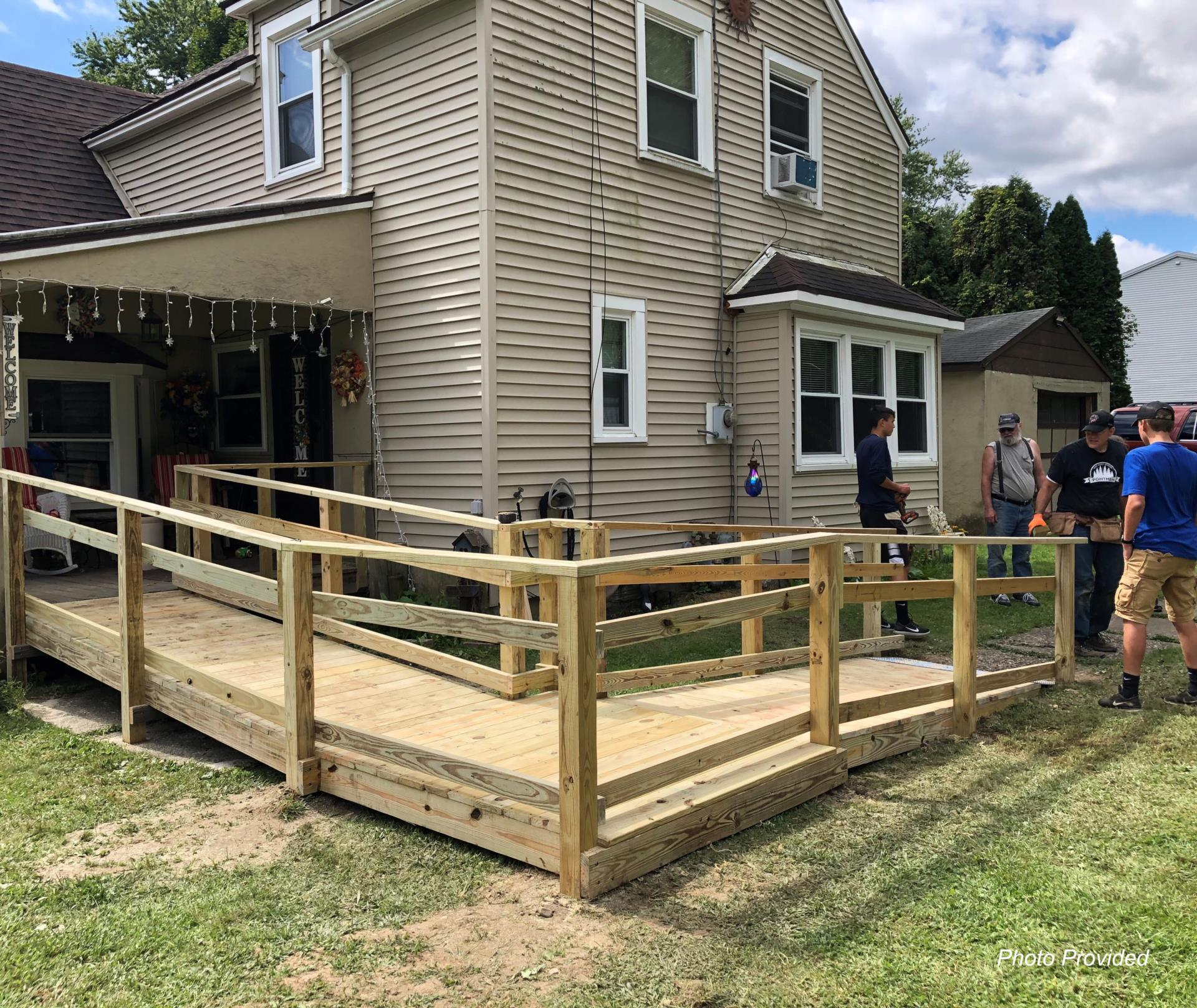 ramp completed