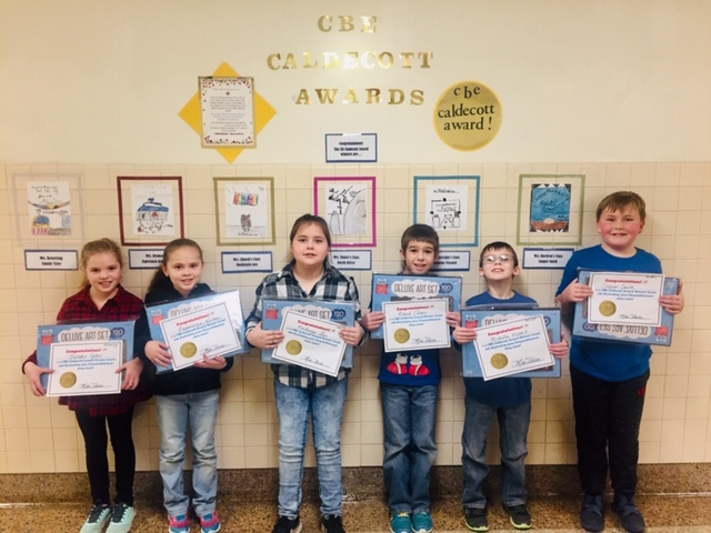 chenango bridge elementary caldecott winning students