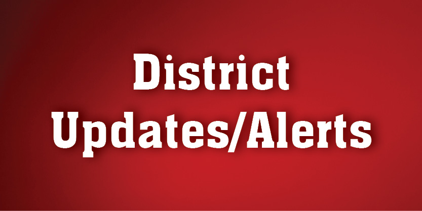District Updates and Alerts