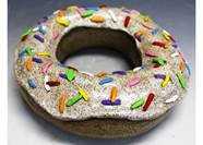 donut container sculpture