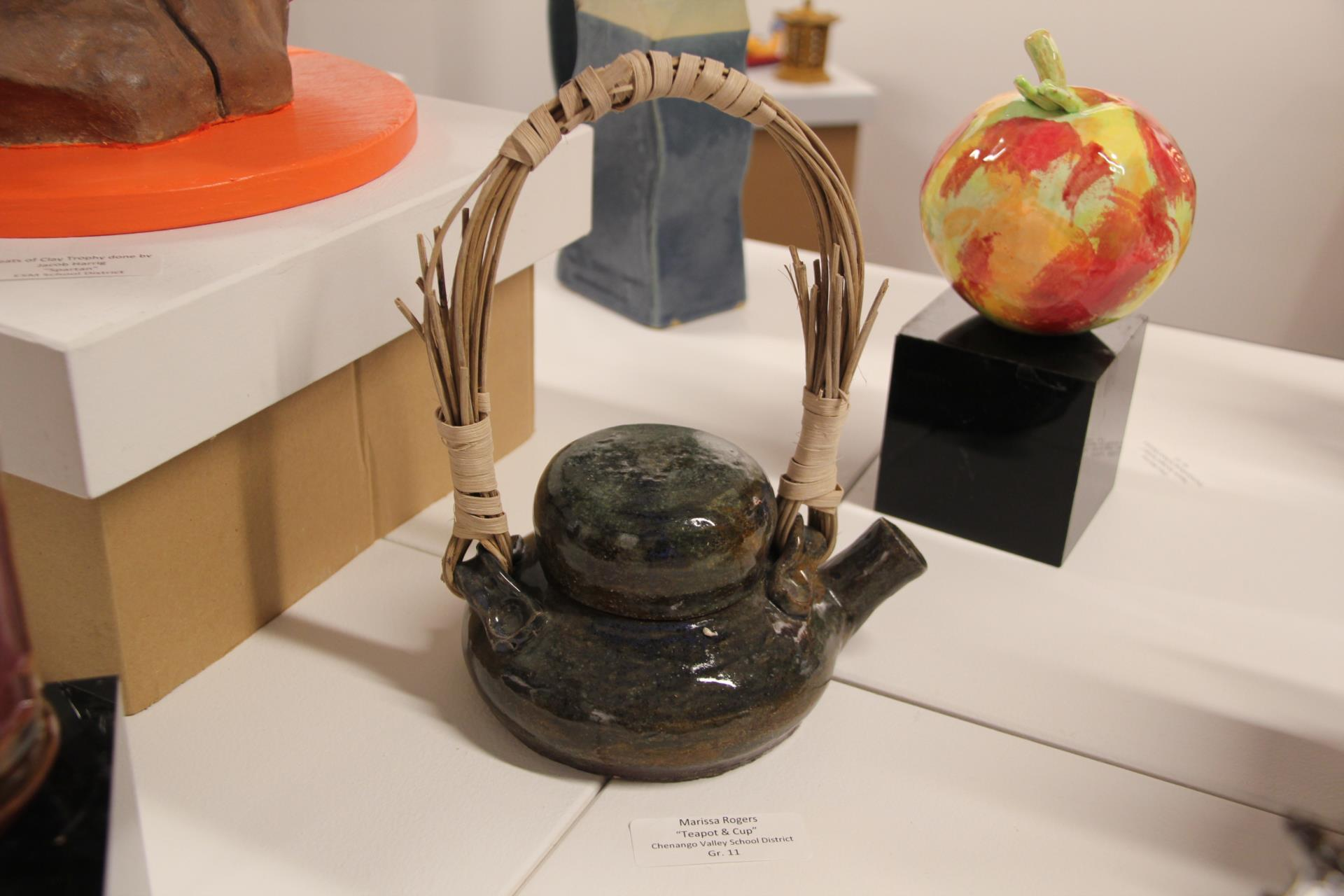 teapot clay structure
