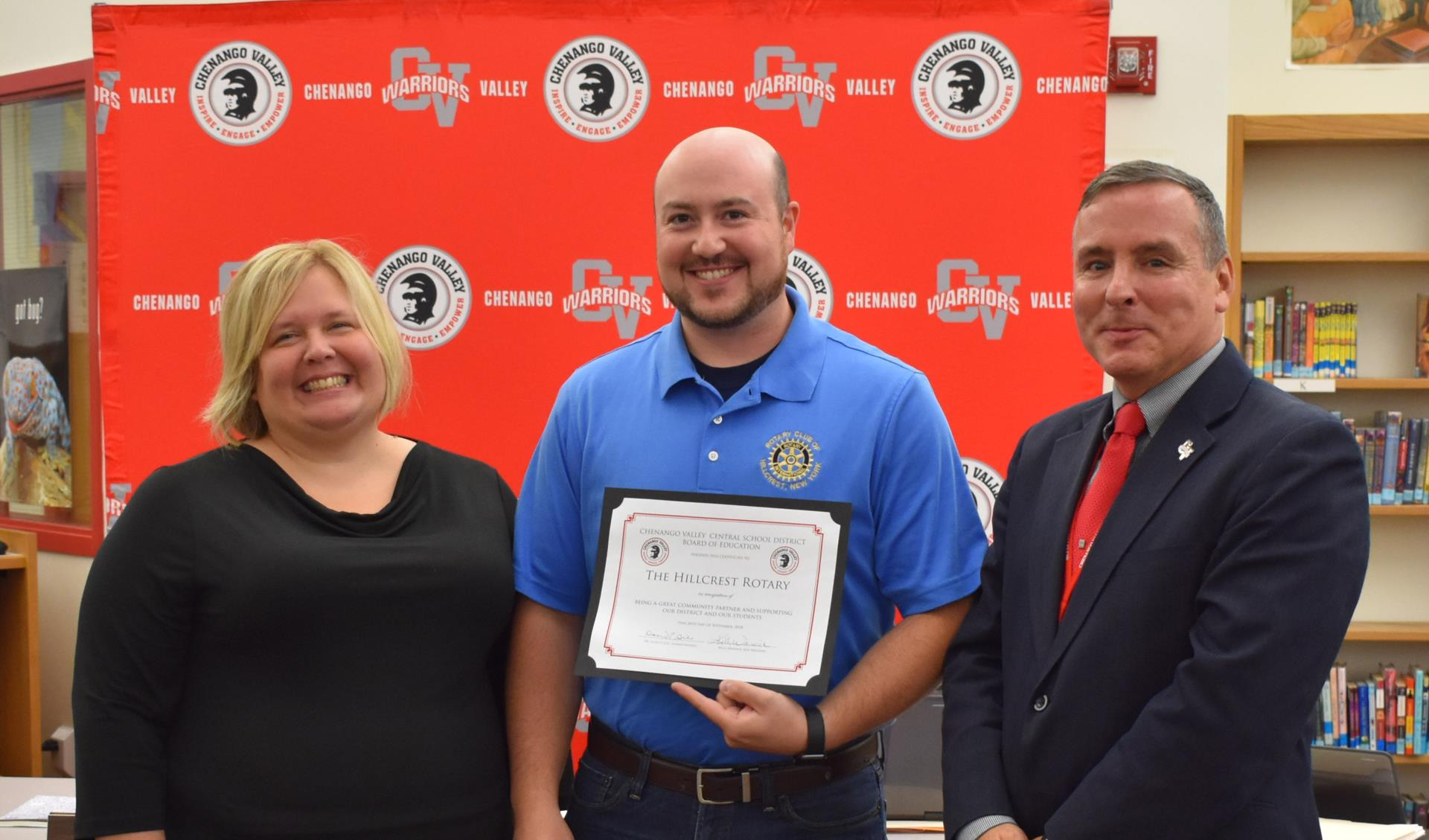Hillcrest Rotary recognized