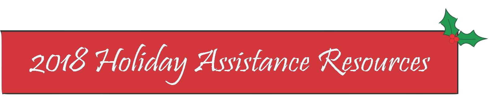 Holiday Assistance Resources