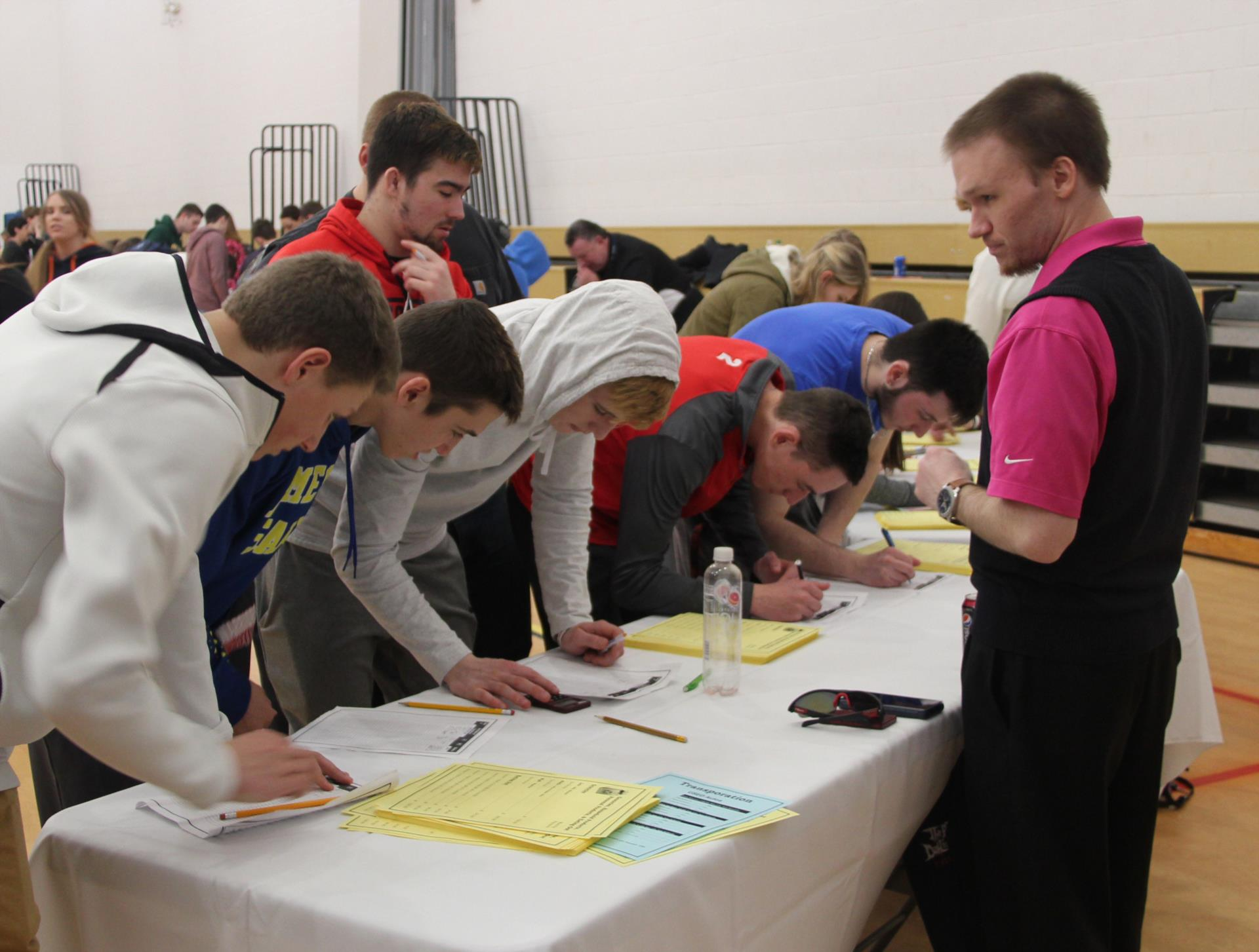 seniors taking part in life is a reality event