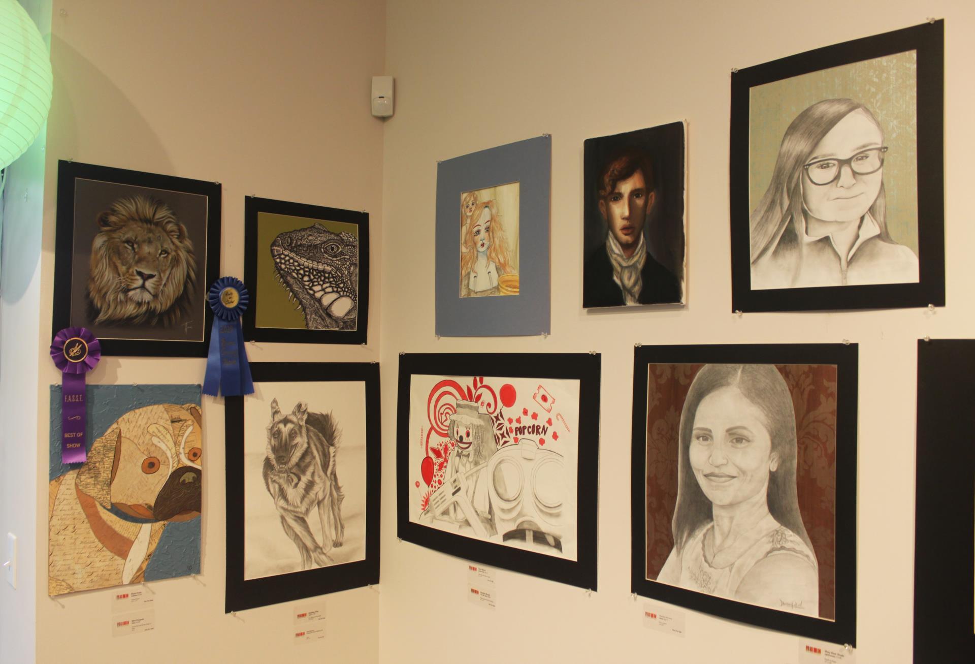 pictures in exhibit