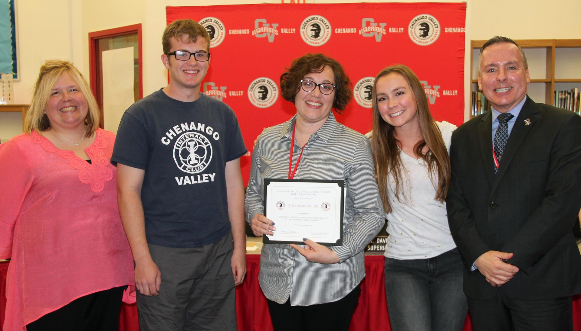 Interact Club Recognition