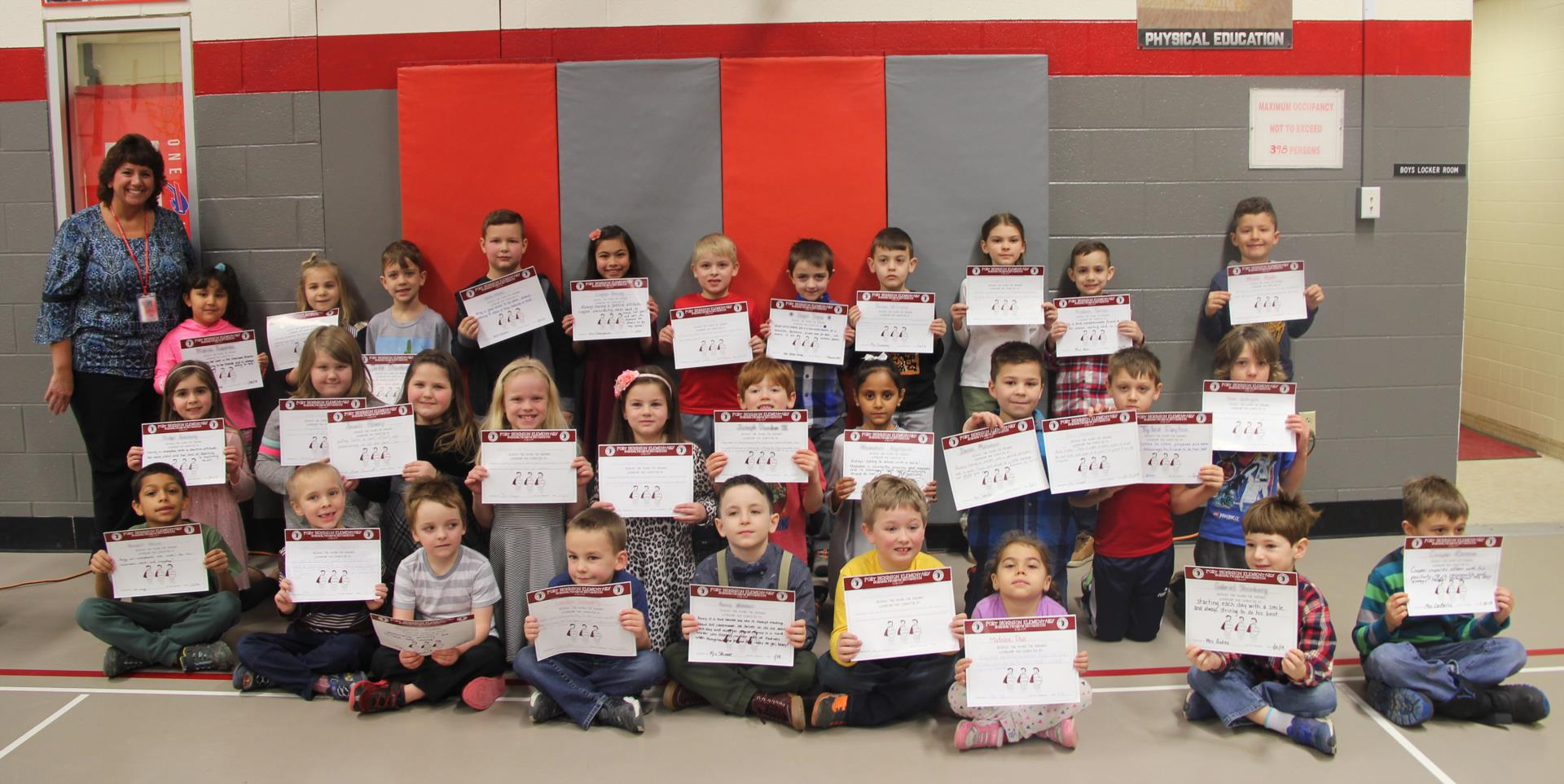 January Morning Program Recognition Group