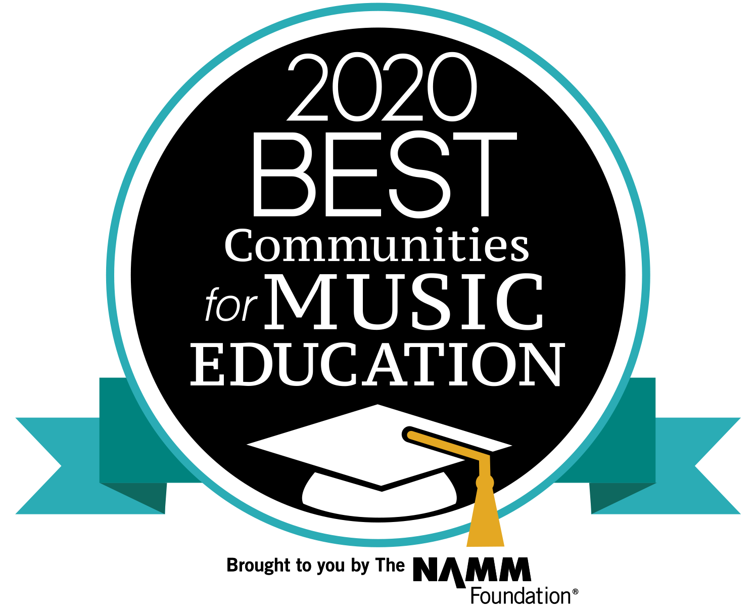 2020 best communities for music educatio by namm foundation