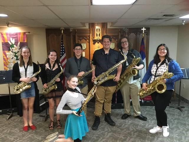 Saxophone Ensemble group
