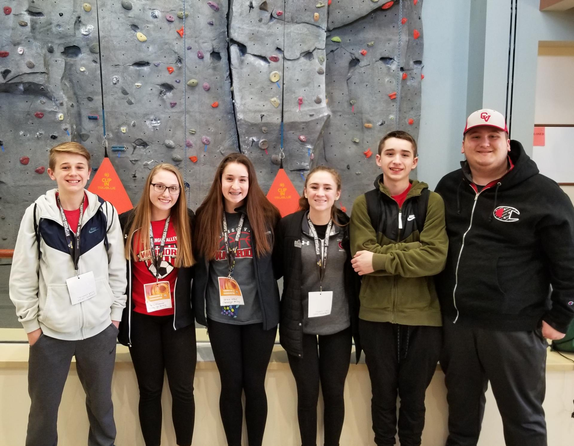 Students at Athletic Conference