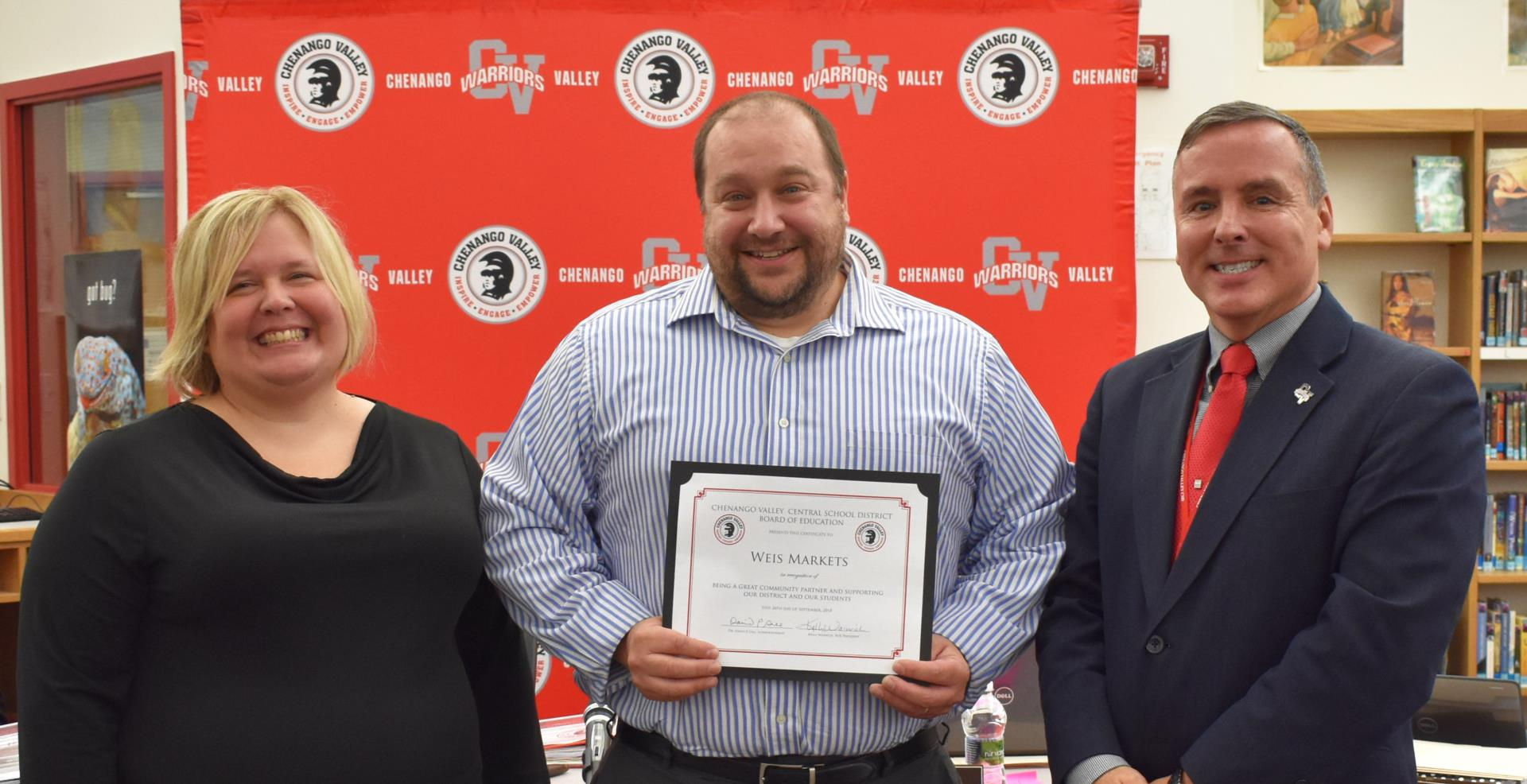 Weis Markets recognized