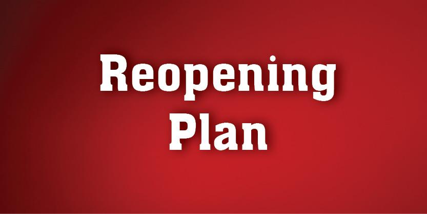 Reopening Plan Graphic