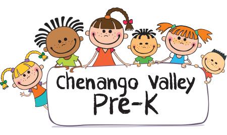 Chenango Valley Pre K Logo