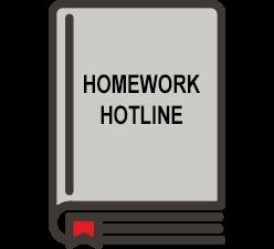 Homework Hotline Illustration