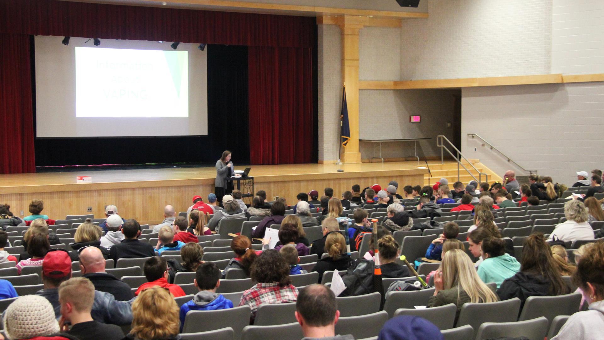 educator sharing presentation