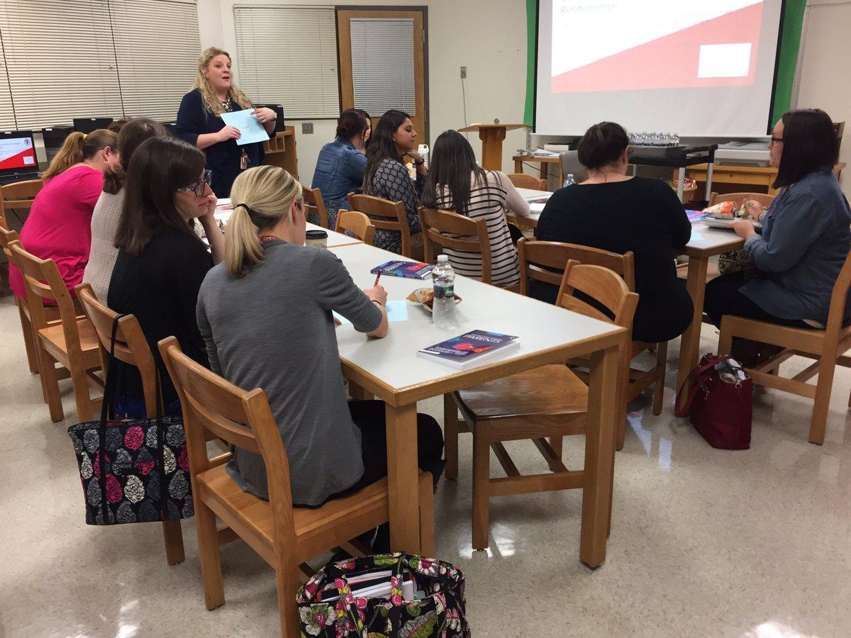 elementary teachers in warrior learners workshop