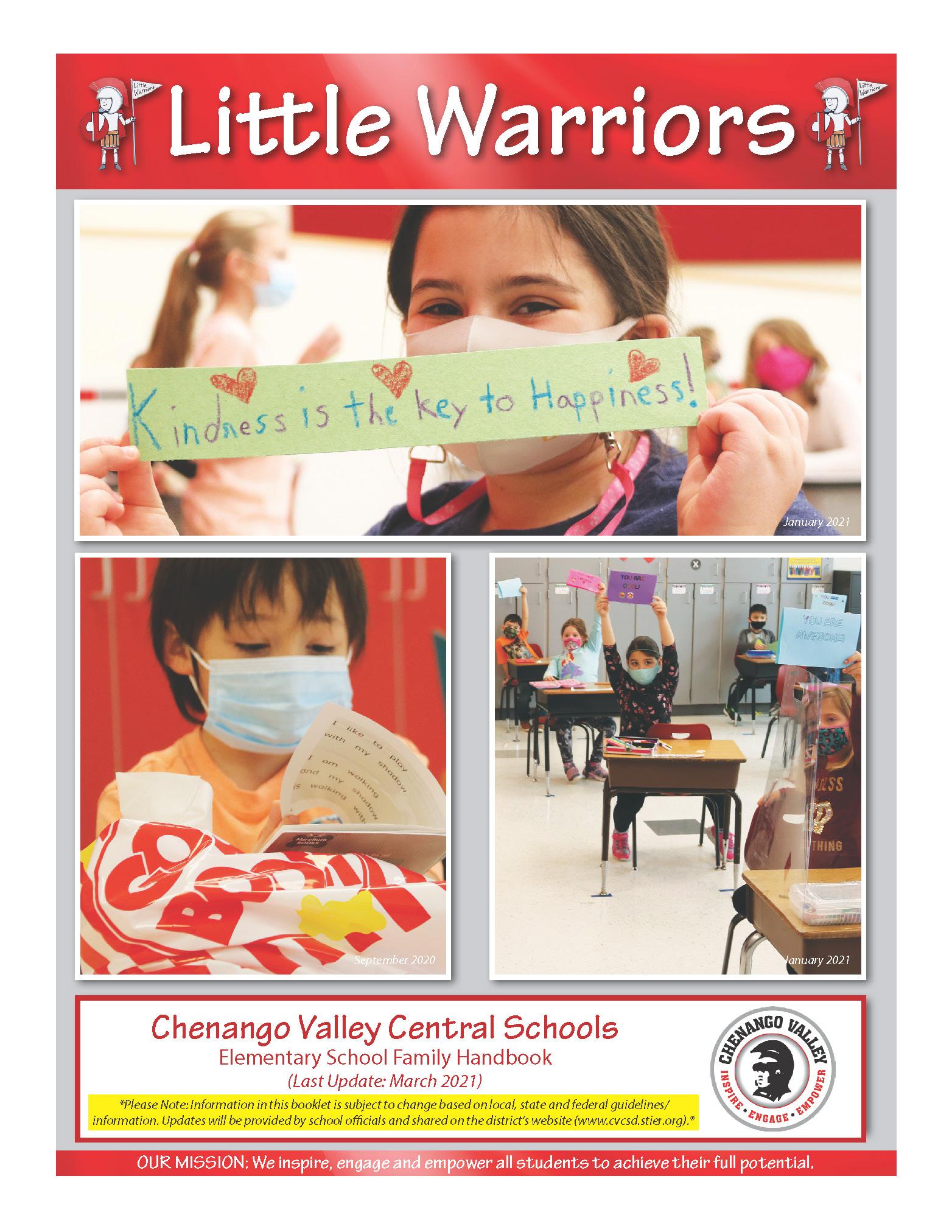 Little Warriors Handbook Cover