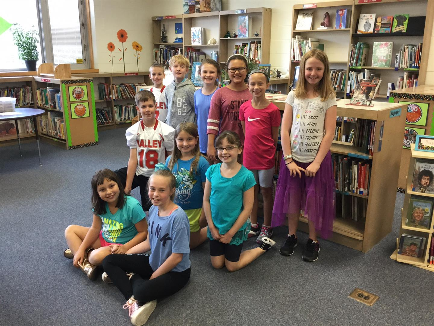 grade 4 reading bingo participants