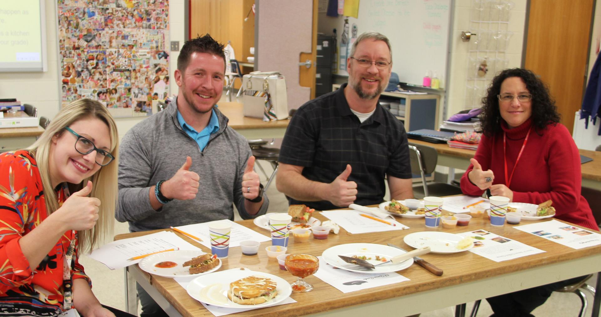grilled cheese challenge judges