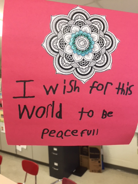 message about peacefulness