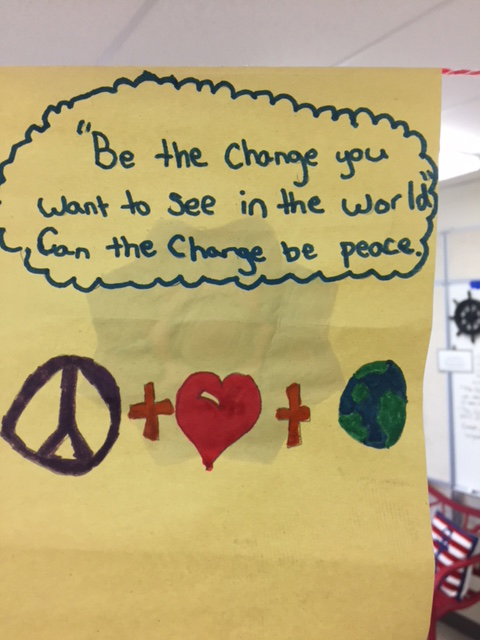 message about world peace