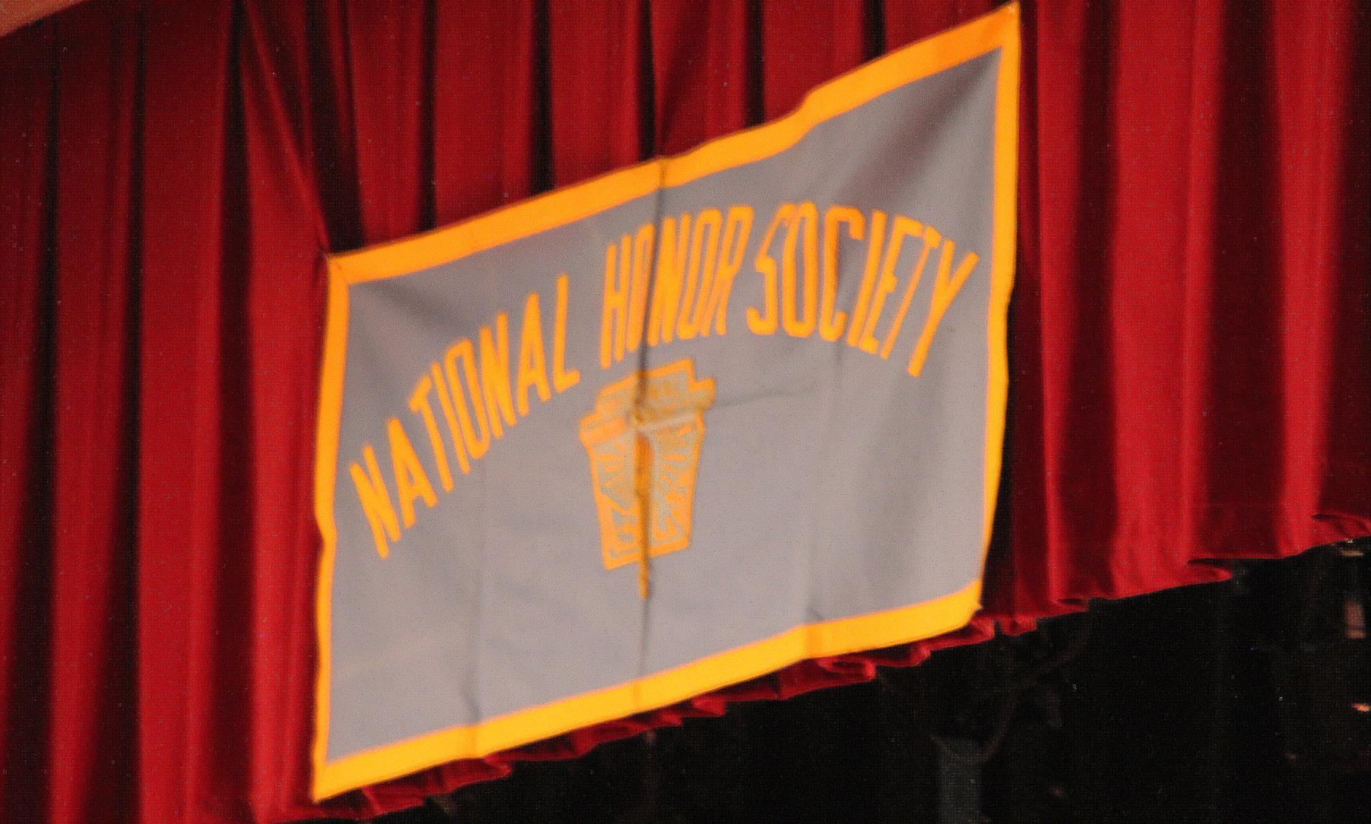 national honor society sign