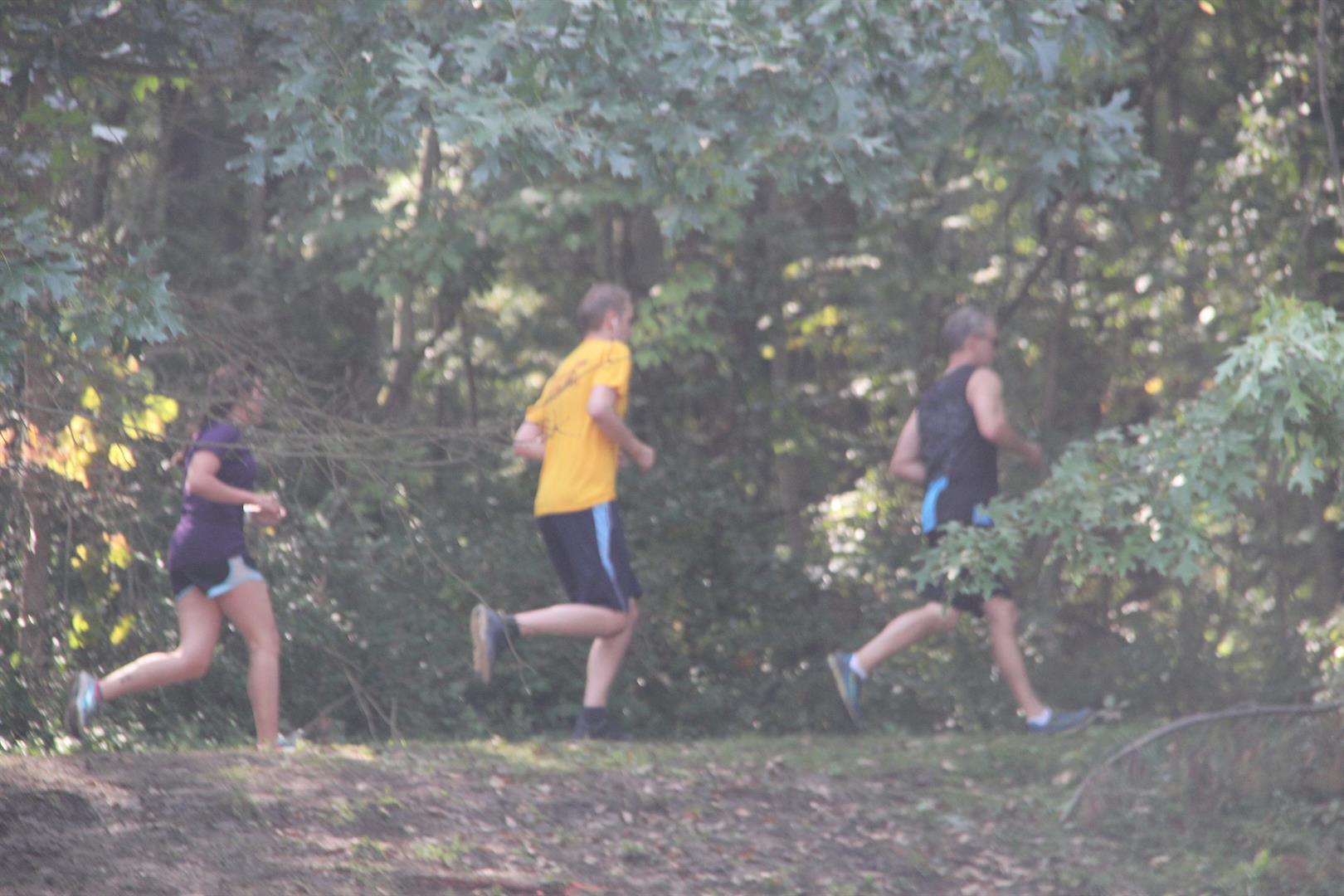 people participating in warrior challenge 4 K Public Race