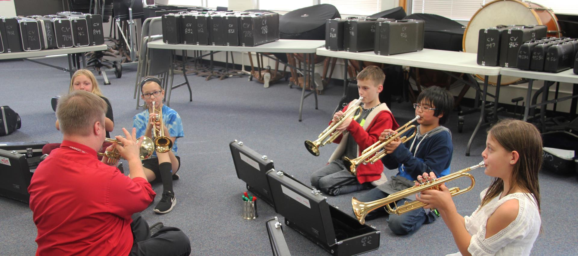 people playing instruments