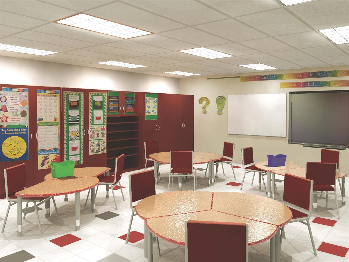 proposed port dickinson classroom model