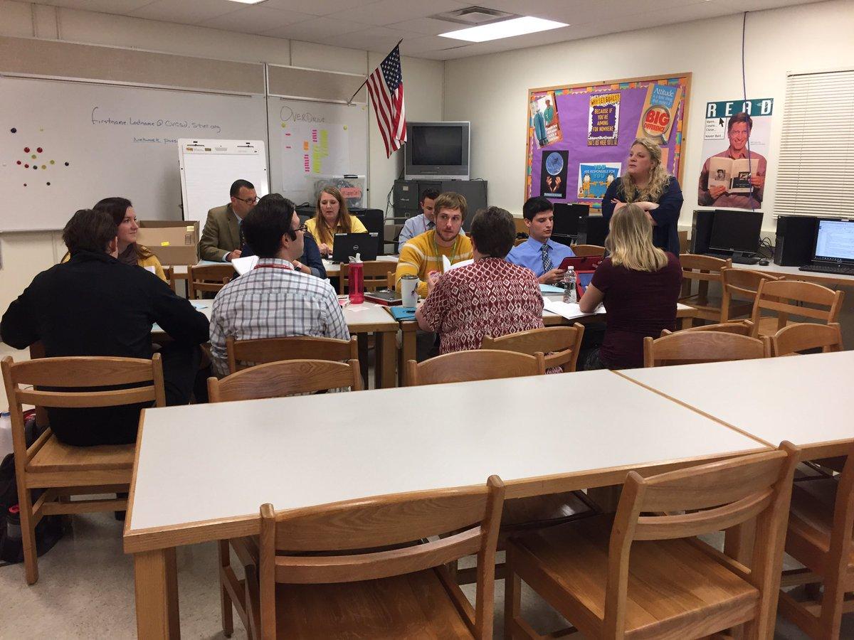 secondary teachers in warrior learners workshop