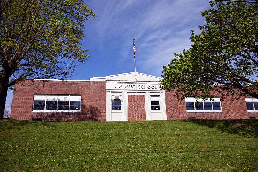 Linnaeus W. West School building front