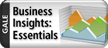 "Button reads ""Gale Business Insights Essentials"" and links to database"