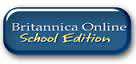 """Button reads """"Britannica Online School Edition"""" and links to database"""