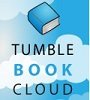 "Button that reads ""Tumble Book Cloud"" and links to database"
