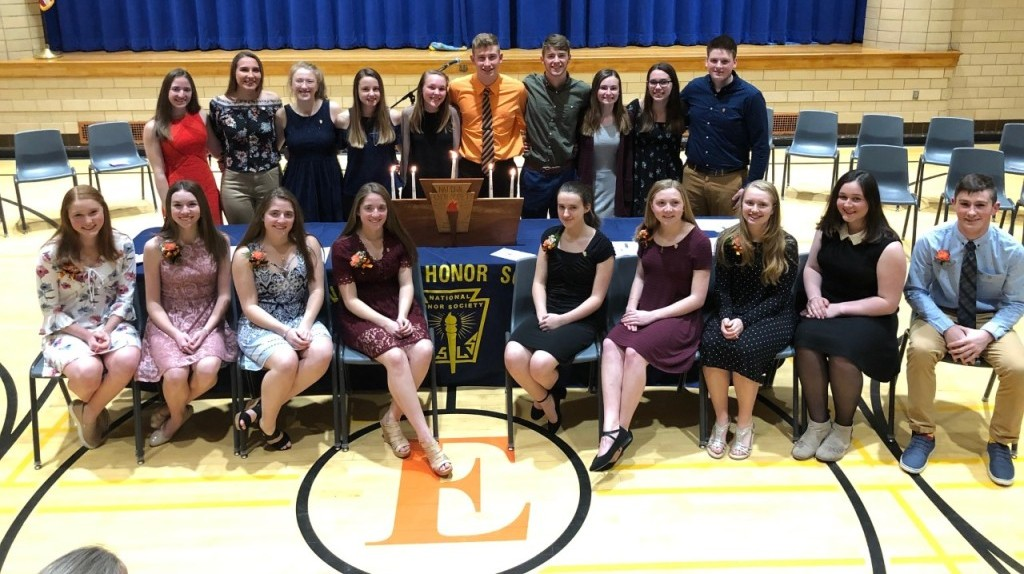 2018-2019 National Honor Society Members