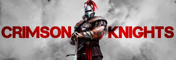 Crimson Knights gladiator mascot