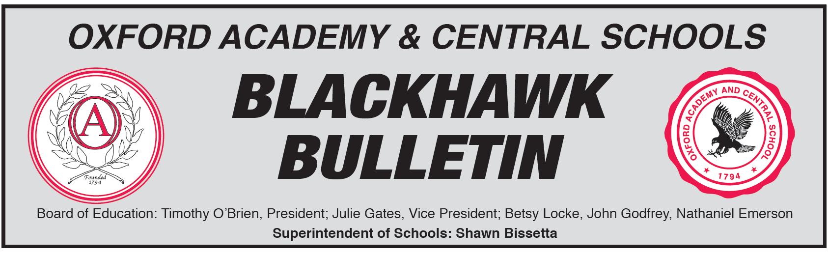 Blackhawk Bulletin