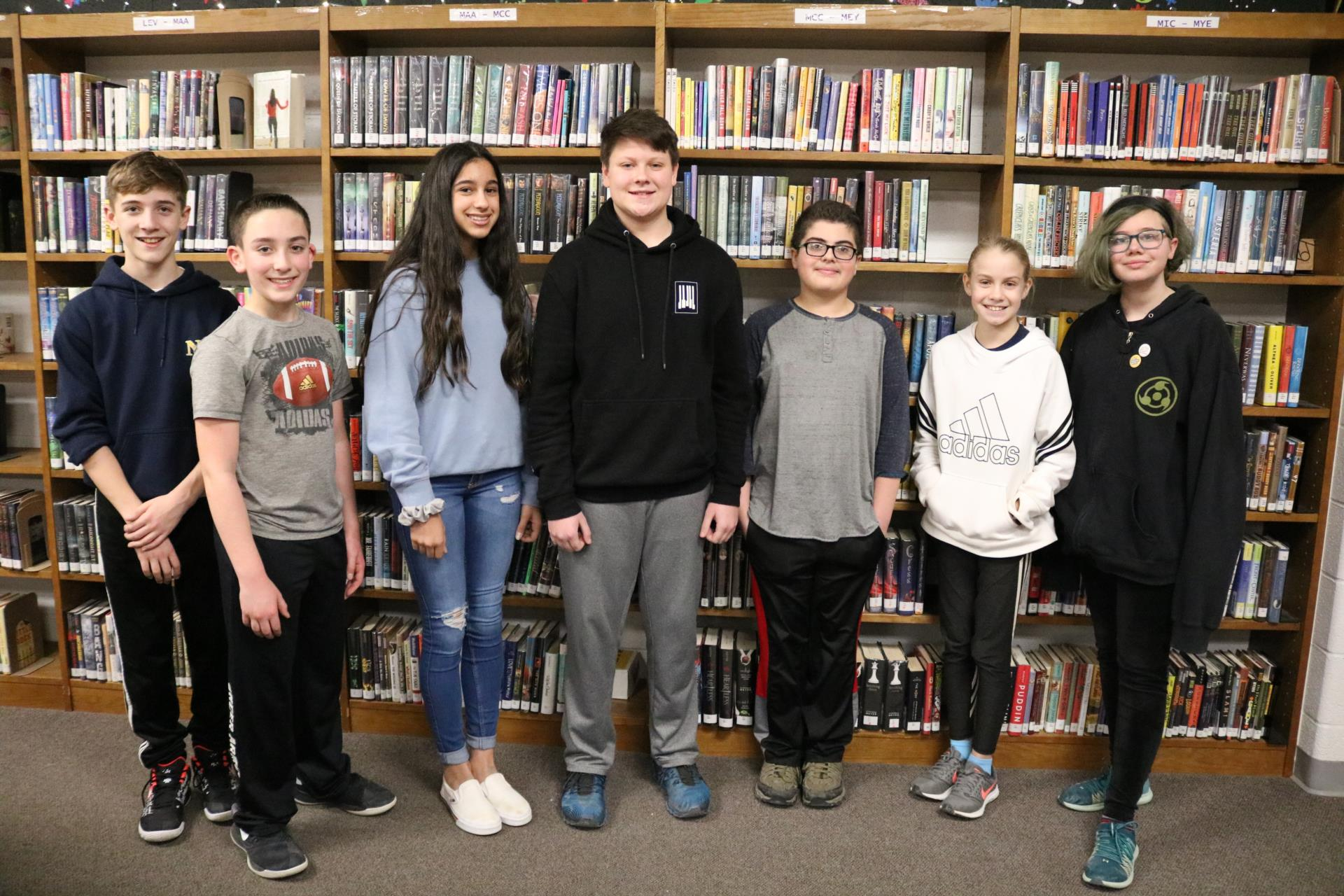 NMS Recognizes Students for Academic Achievement