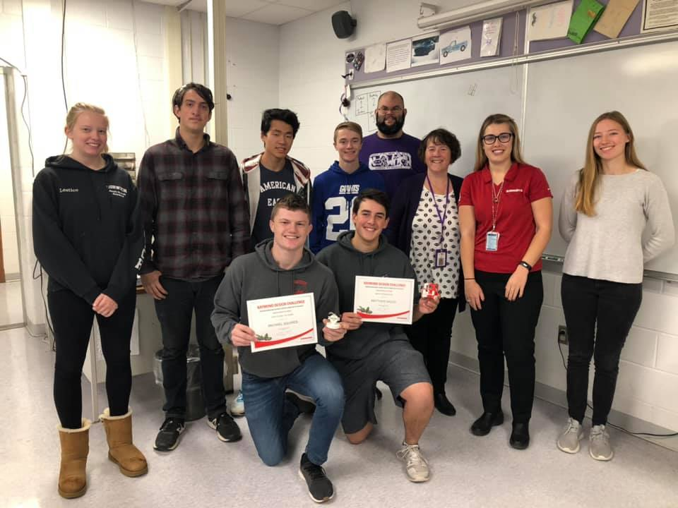 Tech students recognized for designing holiday ornaments
