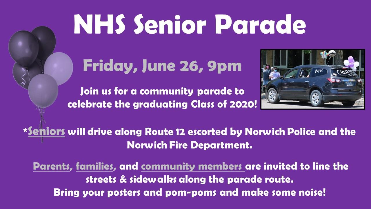 NHS Senior Parade