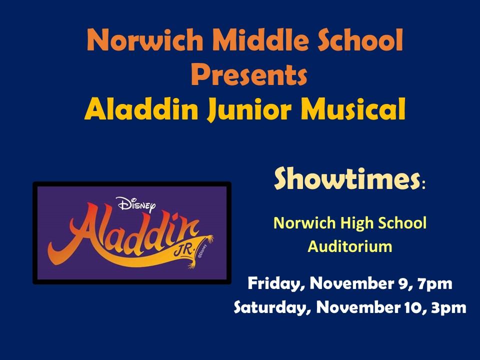 NMS Junior Musical Aladdin