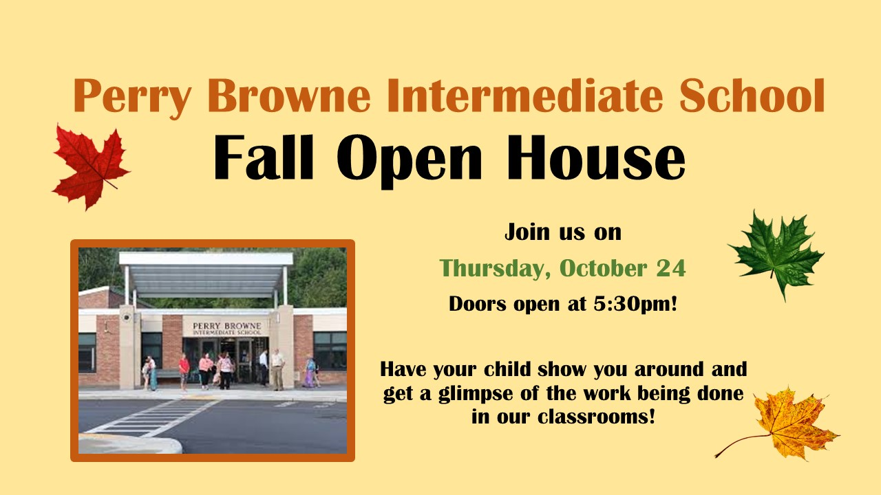 Perry Browne Open House