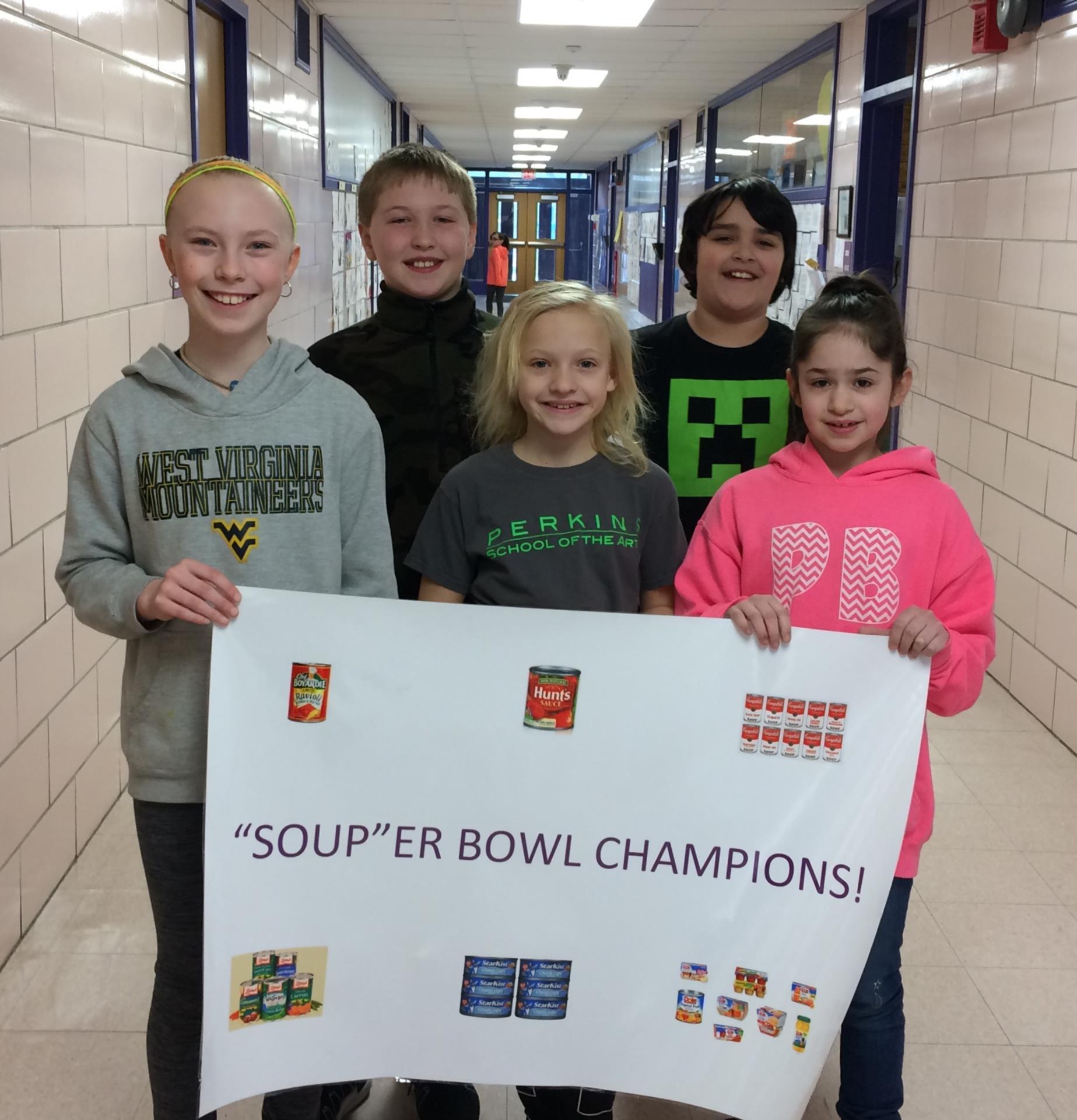 PB Souper Bowl Champions