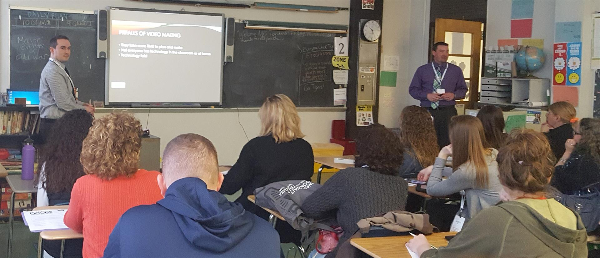 Math Training Session with Teachers