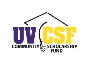 UVCSF logo saying communigy scholarship fund