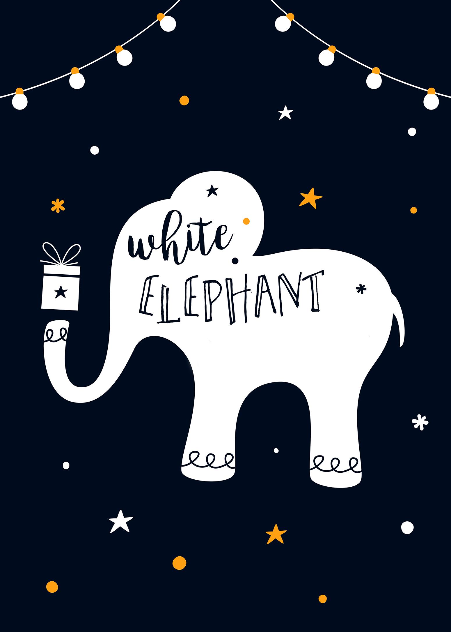 White Elephant Fundraiser Flyer (11/2020)